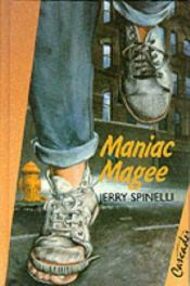 book cover of Maniac Magee by Jerry Spinelli