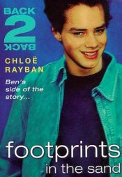 book cover of Back-2-Back: Footprints in the Sand by Chloë Rayban