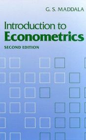 book cover of Introduction to Econometrics by G. S. Maddala