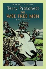 book cover of The Wee Free Men by Terry Pratchett