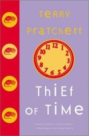 book cover of Thief of Time by Terry Pratchett