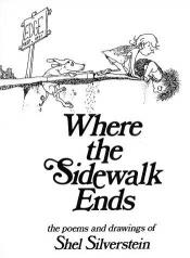 book cover of Where the Sidewalk Ends by Shel Silverstein