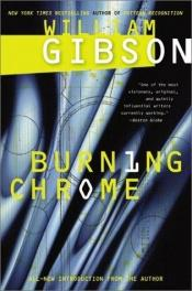 book cover of Burning Chrome by William Gibson