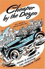 book cover of Cheaper by the Dozen by Frank B. Gilbreth|Ernestine Gilbreth Carey