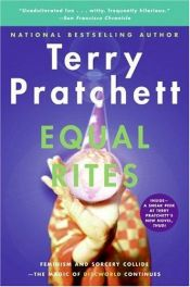 book cover of Equal Rites by Terry Pratchett
