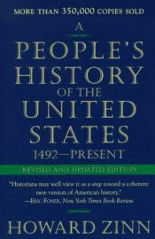 book cover of A People's History of the United States by Howard Zinn
