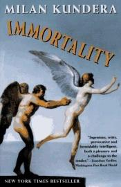 book cover of Immortality by Milan Kundera