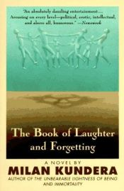 book cover of The Book of Laughter and Forgetting by Milan Kundera