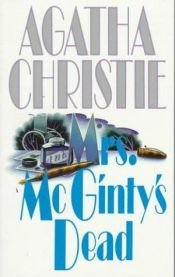 book cover of Fru McGinty er død by Agatha Christie