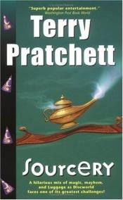 book cover of Sourcery by Terry Pratchett