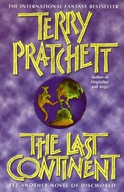 book cover of The Last Continent by Terry Pratchett