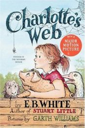 book cover of Charlotte's Web by E. B. White|Garth Williams