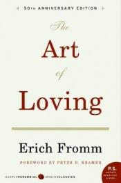 book cover of Listin að elska by Erich Fromm