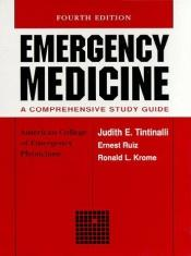book cover of Emergency Medicine: A Comprehensive Study by Judith E. Tintinalli