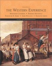 book cover of The Western Experience: Since the Eighteenth Century (Volume II) by Mortimer (Editor) Chambers