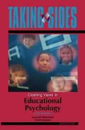 book cover of Taking sides : clashing views in educational psychology by Frank James Symons