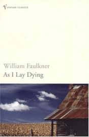 book cover of As I Lay Dying by ويليام فوكنر