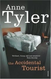 book cover of Tilfeldig turist (The Accidental Tourist by Anne Tyler