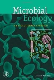 book cover of Microbial Ecology: An Evolutionary Approach by J Vaun McArthur