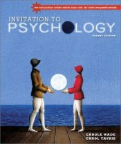 book cover of Invitation to Psychology, Second Edition (Book & Video Classics CD) by Carole Wade
