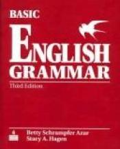 book cover of Basic English Grammar, Third Edition (Teacher's Guide) by Betty Schrampfer Azar