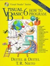 book cover of Visual Basic 6 how to program by H.M. Deitel
