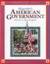 book cover of Magruder's American Government, 1989 (Magruder's American Government) by William A. McClenaghan