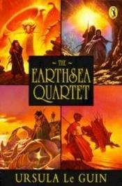 book cover of The Earthsea Quartet (A Wizard of Earthsea, The Tombs of Atuan, The Farthest Shore & Tehanu: The Last Book of Earthsea) by Ursula K. Le Guin