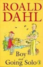 book cover of Boy by Roald Dahl