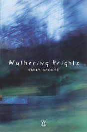 book cover of Wuthering Heights by Emily Brontë