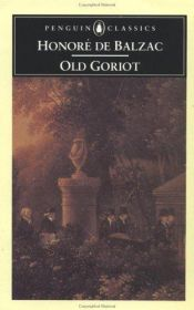 book cover of Father Goriot by Honoré de Balzac
