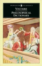 book cover of Dictionnaire philosophique by Voltaire