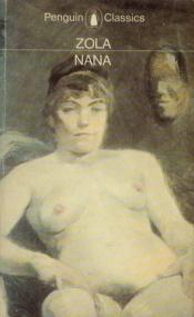 book cover of Nanà by Emile Zola