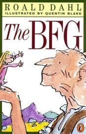 book cover of The BFG by Roald Dahl