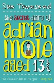 book cover of Adrian Moles hemmelige dagbok by Sue Townsend