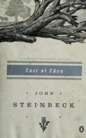book cover of East of Eden by John Steinbeck