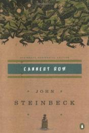 book cover of Cannery Row by John Steinbeck
