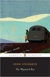 book cover of The Wayward Bus by John Steinbeck