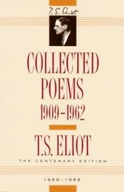 book cover of Collected Poems, 1909-1962 by T. S. Eliot