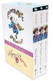 book cover of Mary Poppins: Three Enchanting Classics: Mary Poppins, Mary Poppins Comes Back, and Mary Poppins Opens the Door by P. L. Travers
