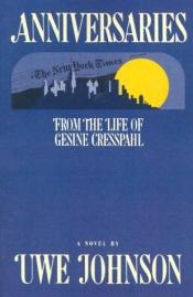 book cover of Anniversaries: From the Life of Gesine Cresspahl by Uwe Johnson