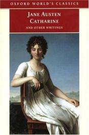 book cover of Catharine and other writings by Jane Austen