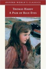book cover of A Pair of Blue Eyes by Thomas Hardy