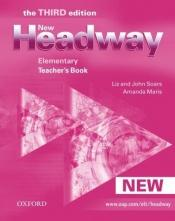 book cover of New Headway: Teacher's Book Elementary level by John Soars