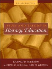 book cover of Issues and Trends in Literacy Education by Richard David Robinson