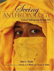 book cover of Seeing Anthropology: Cultural Anthropology Through Film by Karl G. Heider