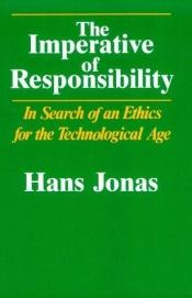 book cover of The Imperative of Responsibility by Hans Jonas