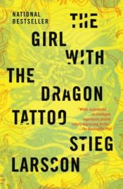 book cover of The Girl with the Dragon Tattoo by Stieg Larsson