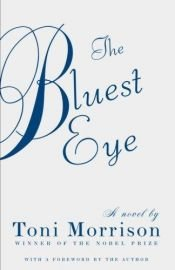book cover of The Bluest Eye by Toni Morrison