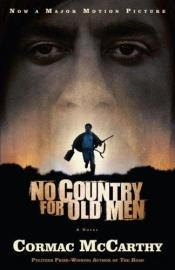 book cover of No Country for Old Men by Cormac McCarthy